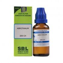 SBL Abrotanum Dilution 200 CH