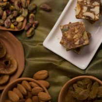 Almond House Anjeer  Dryfruit Burfi