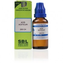 SBL Acid Aceticum Dilution 1000 CH