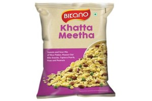 Bikano Khatta Meetha Mixture (200, Pack of 5)