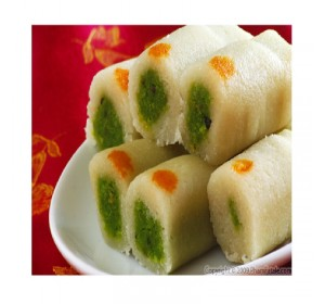 Kaju Pista Roll  - Sampradaya Sweets