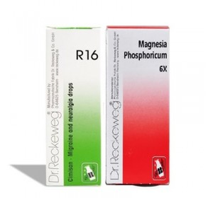 Dr. Reckeweg Migraine Care Combo (R16 + Magnesium Phosph Biochemic Tablet 6X)