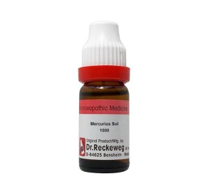 Dr. Reckeweg Mercurius Sol Dilution 1000 CH