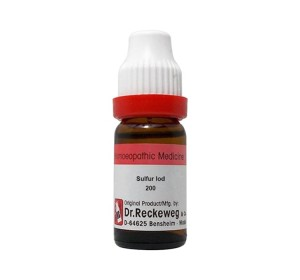 Dr. Reckeweg Sulfur Iod Dilution 200 CH