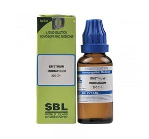 SBL Emetinum Muriaticum Dilution 200 CH