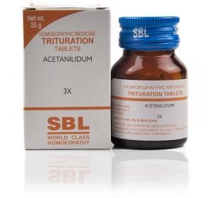 SBL Acetanilidum Trituration Tablet 3X