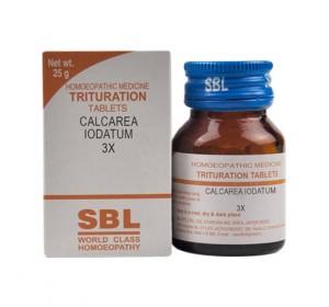 SBL Calcarea Iodatum Trituration Tablet 6X