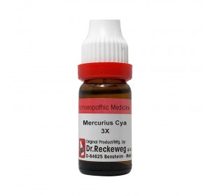 Dr. Reckeweg Mercurius Cya Dilution 3X