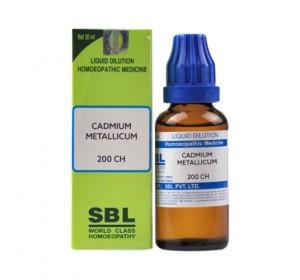 SBL Cadmium Metallicum Dilution 200 CH