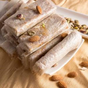 Almond House Bellam Dry Fruit Pootharekulu - 6 Pcs