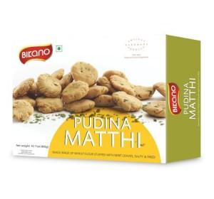 Bikano Pudina Mathri (400 gm)