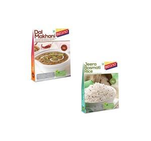 Bikano Dal makhani and Jeera rice