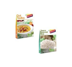 Bikano Dal Tadka and Jeera rice