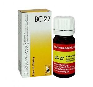 Dr. Reckeweg Bio-Combination 27 (BC 27) Tablet