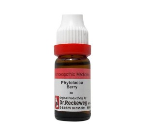 Dr. Reckeweg Phytolacca Berry Dilution 30 CH
