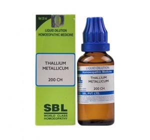 SBL Thallium Metallicum Dilution 200 CH