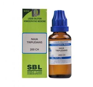 SBL Naja Tripudians Dilution 200 CH