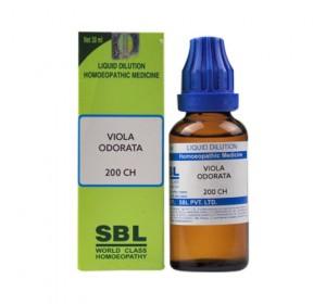 SBL Viola Odorata Dilution 200 CH